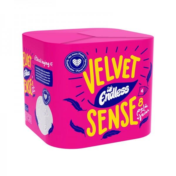 Χαρτί Υγείας Velvet Sense Endless...