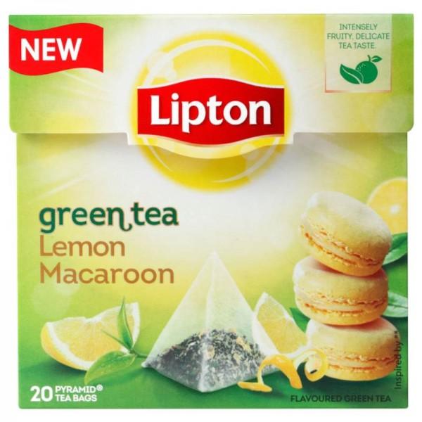 Πράσινο τσάι πυραμίδα Λεμόνι Μακαρόν...