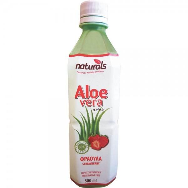 Χυμός Naturals Aloe Vera με Φράουλα...