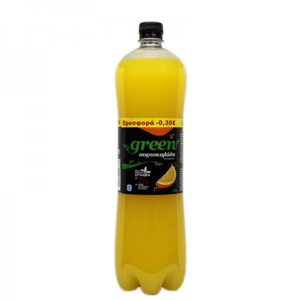 Green πορτοκαλάδα 1.5lt (-0,30€)