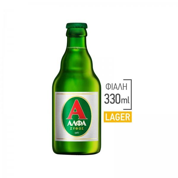 Μπύρα Φιάλη Retro (One Way) Άλφα 330ml