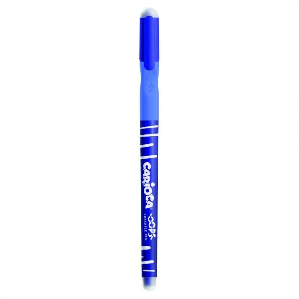 Στυλό Σβηνόμενο Μπλε Oops Carioca 0,7mm