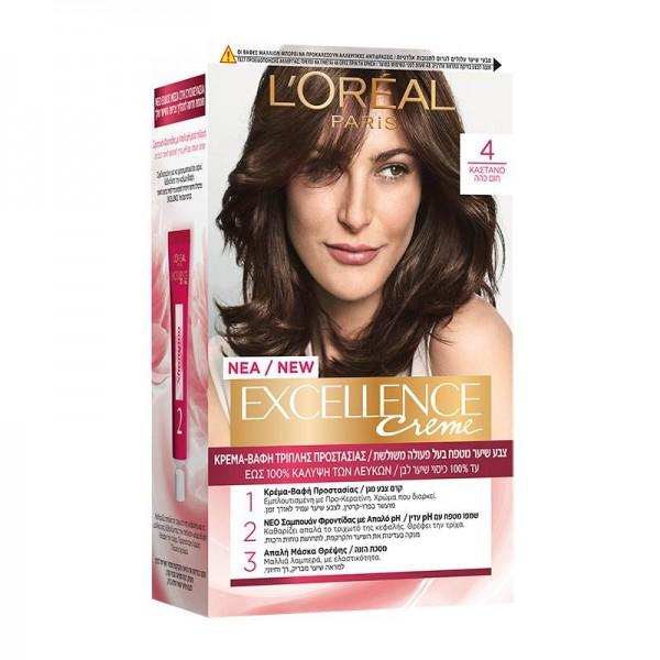 Βαφή Μαλλιών L'Oreal Excellence Creme...