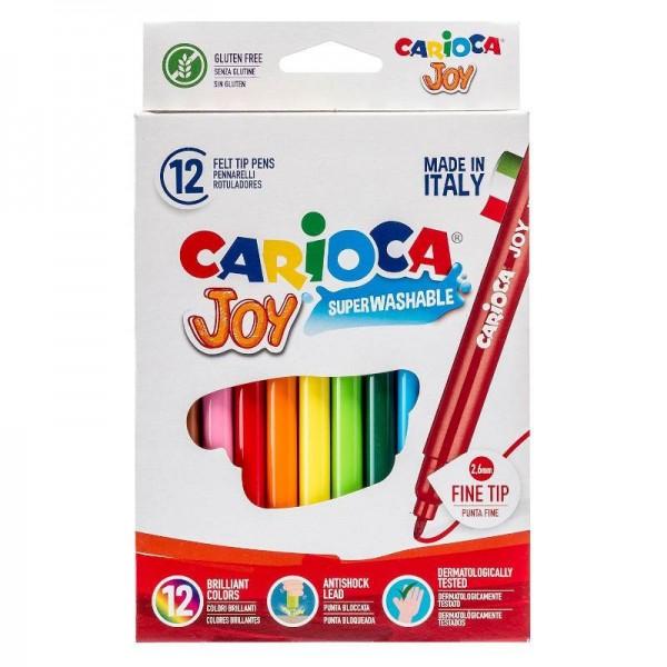 Μαρκαδόροι Ζωγραφικής Joy 12 Χρώματα...