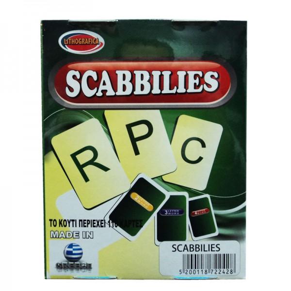 Παιχνίδι με χαρτιά scabbilies - PANCO...