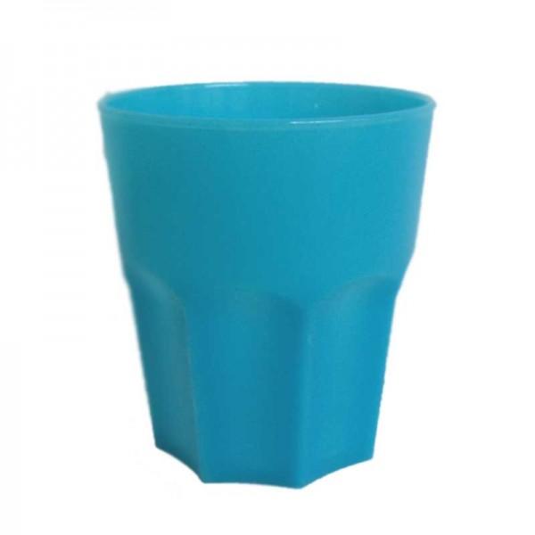 Ποτήρι Πολυγωνικό 380ml Τιρκουάζ Κύκλωψ