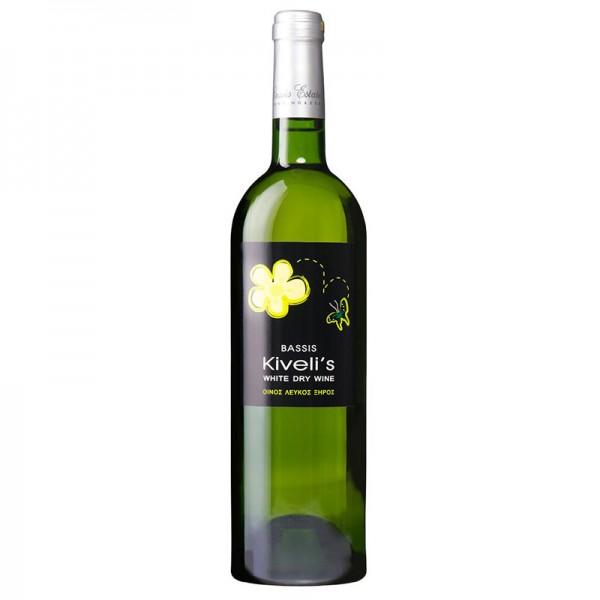 Λευκός ξηρός οίνος Kiveli's -...