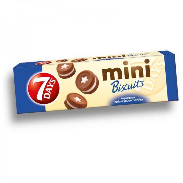 Mini μπισκότα γεμιστά με κρέμα...