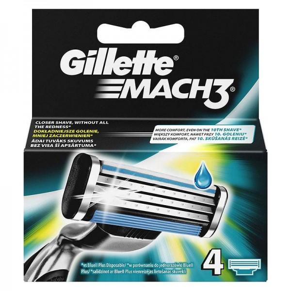 Ανταλλακτικά Ξυραφάκια Gillette Mach...