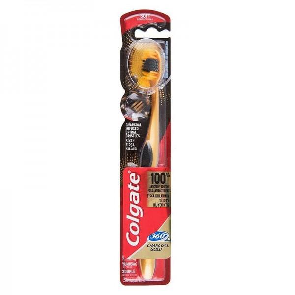 Οδοντόβουρτσα Colgate 360 Charcoal...