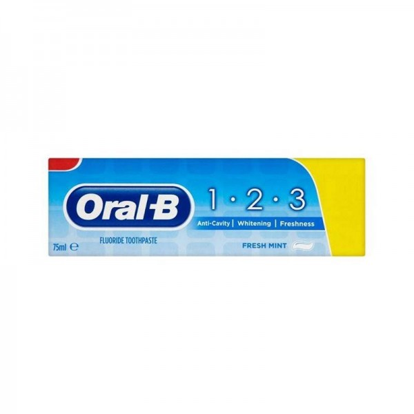 Οδοντόκρεμα Oral-B 1.2.3 Mint 75ml