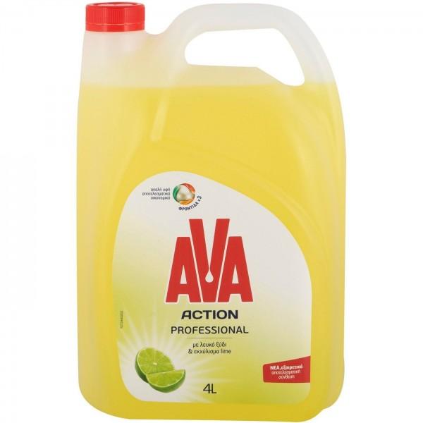 Υγρό Απορρυπαντικό Πιάτων AVA Action...