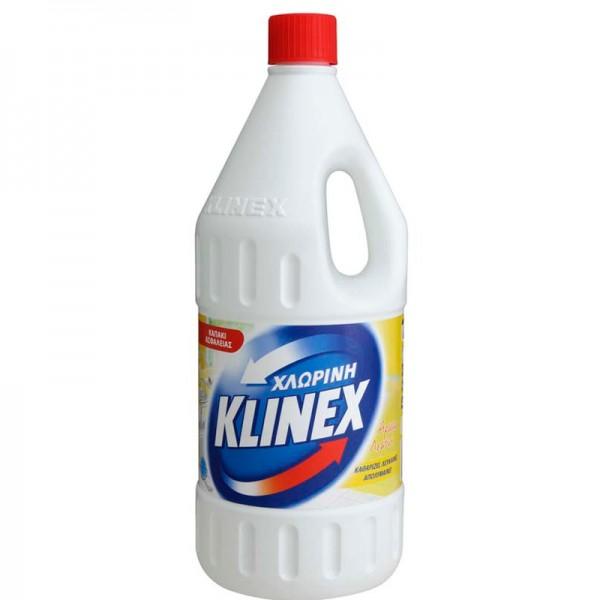 Χλωρίνη με άρωμα λεμόνι Klinex 2lt