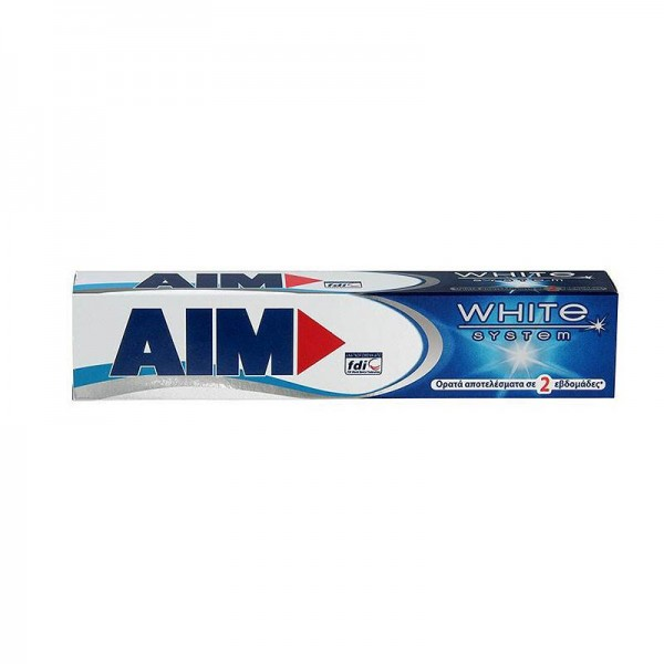Οδοντόκρεμα AIM White System 75ml