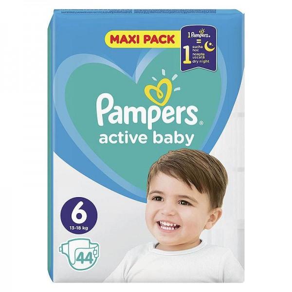 Πάνες Pampers Active Baby No 6...