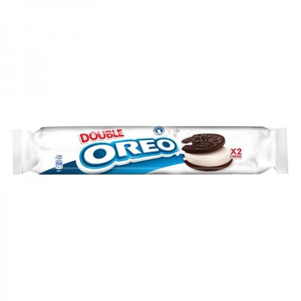 Μπισκότα γεμιστά διπλή βανίλια Oreo...