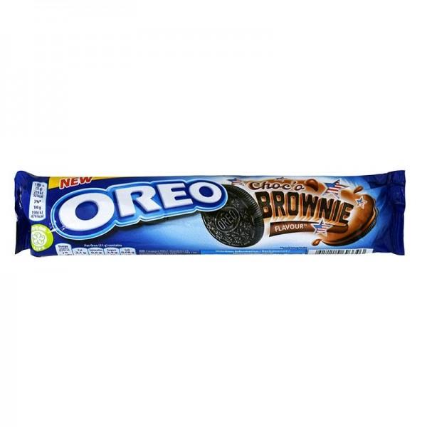 Μπισκότα γεμιστά brownie Oreo 154gr