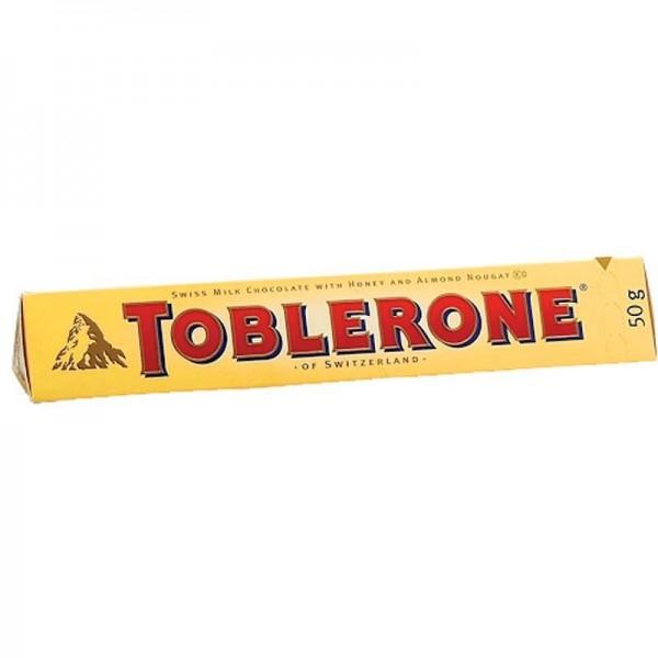 Σοκολάτα γάλακτος Toblerone 50gr