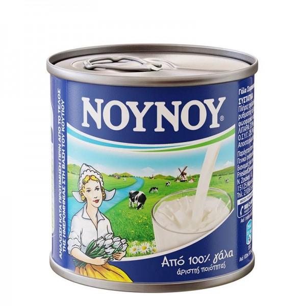 Γάλα εβαπορέ πλήρες Νουνού 170gr