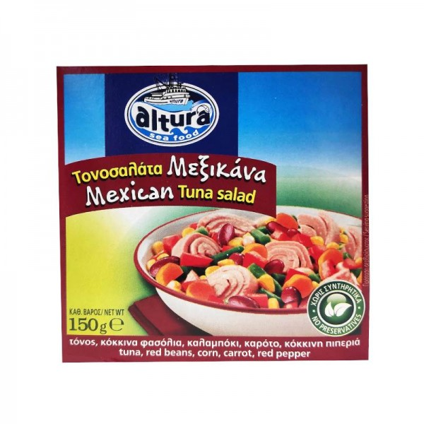 Τονοσαλάτα Μεξικάνα Altura 150gr