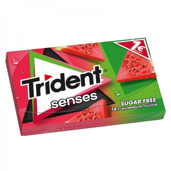 Τσίχλες με γεύση καρπούζι Trident...