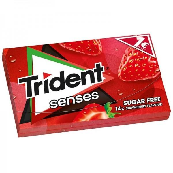Τσίχλες με γεύση φράουλα Trident...
