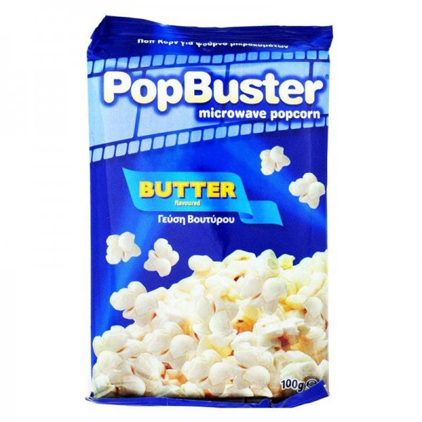 Ποπ κορν βουτύρου Popbuster 100g