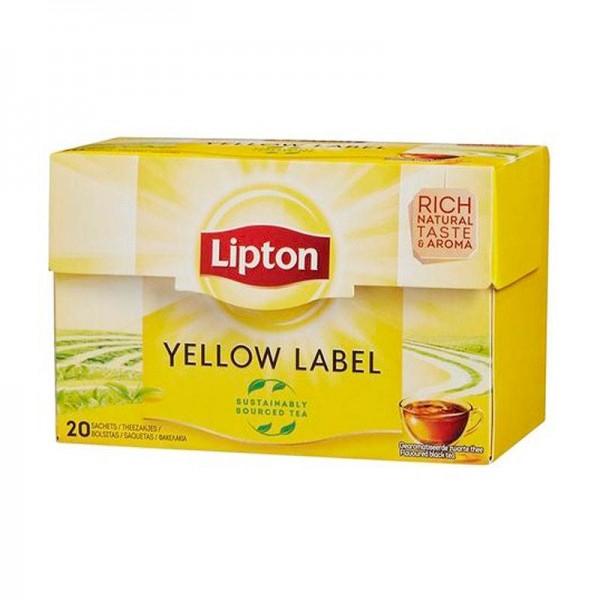 Μαύρο Τσάι Lipton Yellow Label 20...