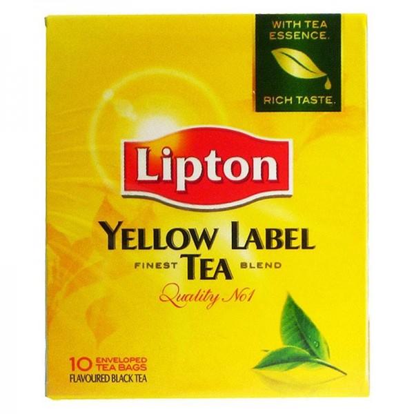 Μαύρο Τσάι Lipton Yellow Label 10...