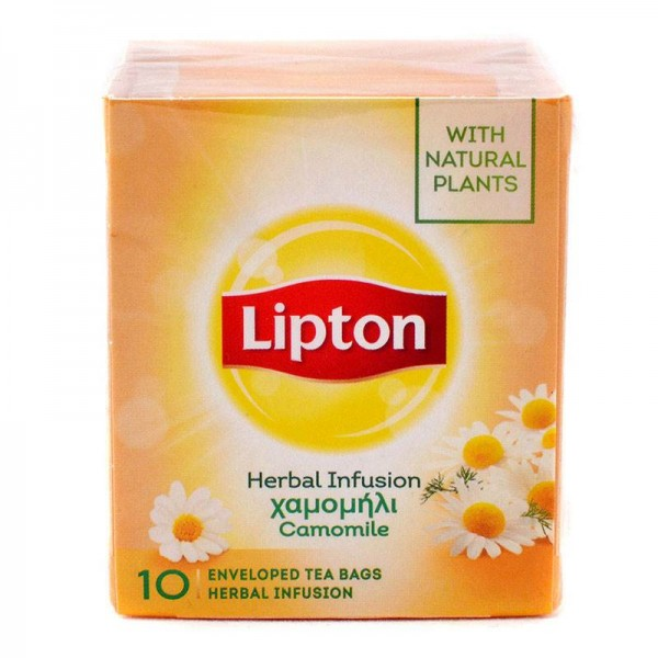 Χαμομήλι Lipton 10 φακελάκια