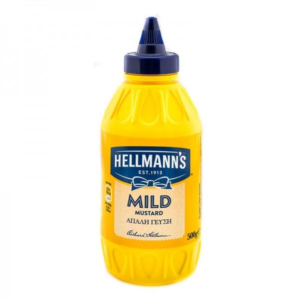 Μουστάρδα απαλή Hellmann's 500gr