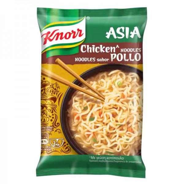 Noodles με γεύση κοτόπουλο Knorr 70gr