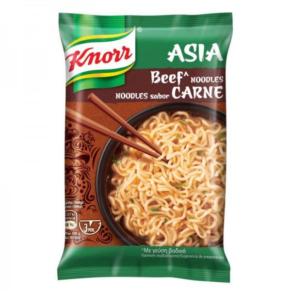 Noodles με γεύση βοδινό Knorr 68gr