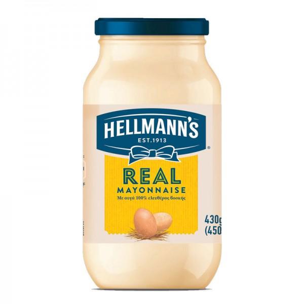 Μαγιονέζα Real Hellmann's 450ml