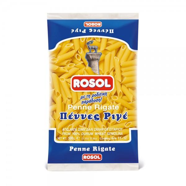 Πέννες ριγέ ROSOL 500 gr
