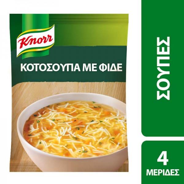 Κοτόσουπα με φιδέ Knorr 67gr