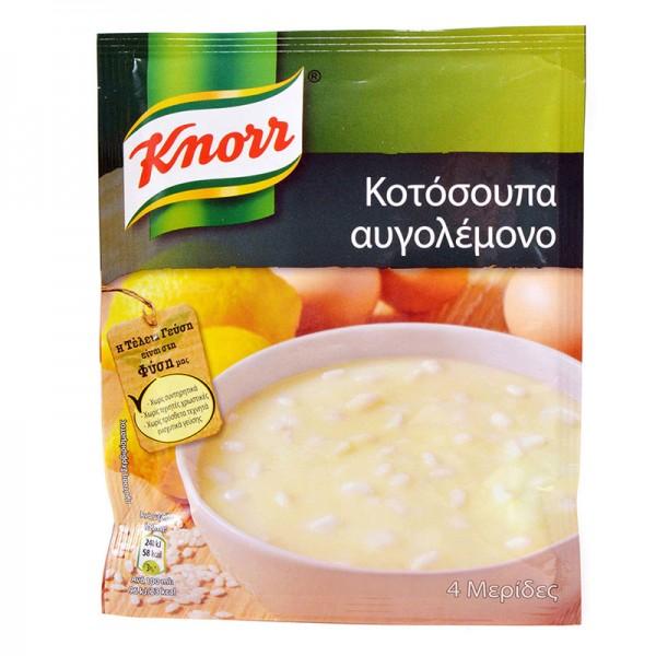 Κοτόσουπα αυγολέμονο Knorr 67gr