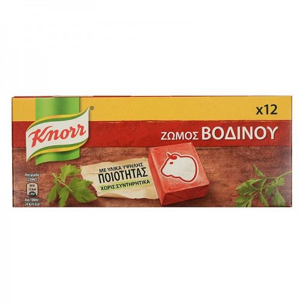 Κύβος βοδινό Knorr 12 τεμ.