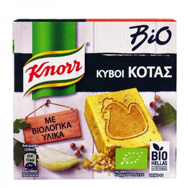 Κύβος κότας βιολογικός Knorr 6 τεμ.