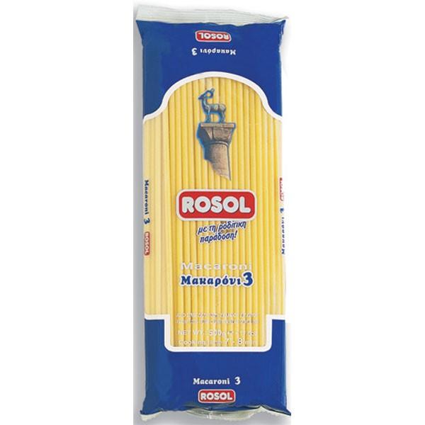 Μακαρόνι Νο 3 ROSOL 500gr
