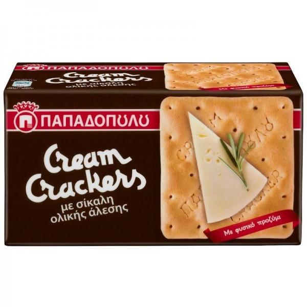 Μπισκότα Cream Crackers με Σίκαλη...
