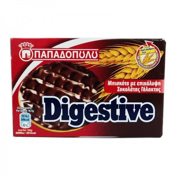 Μπισκότα Digestive με σοκολάτα...