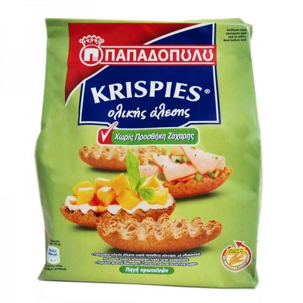 Krispies Παξιμάδια Ολικής άλεσης...