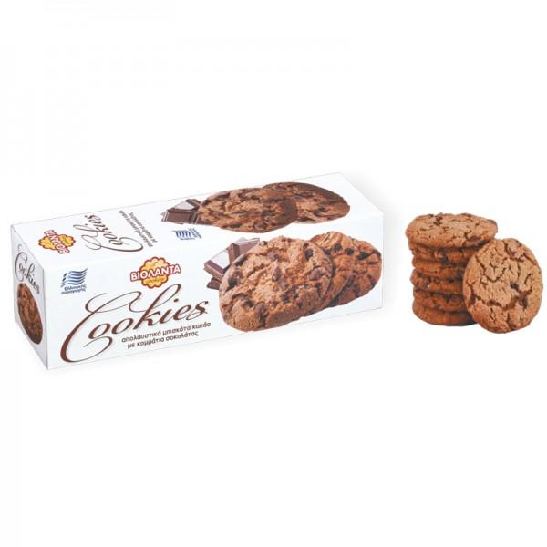 Cookies cacao ΒΙΟΛΑΝΤΑ 175 gr