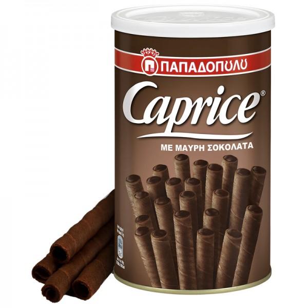CAPRICE με κρέμα μαύρης σοκολάτας...