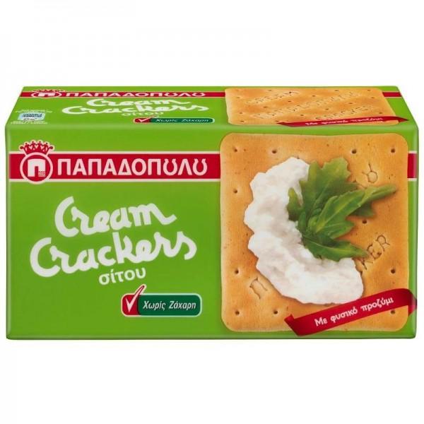 Μπισκότα Cream Crackers Σίτου χωρίς...