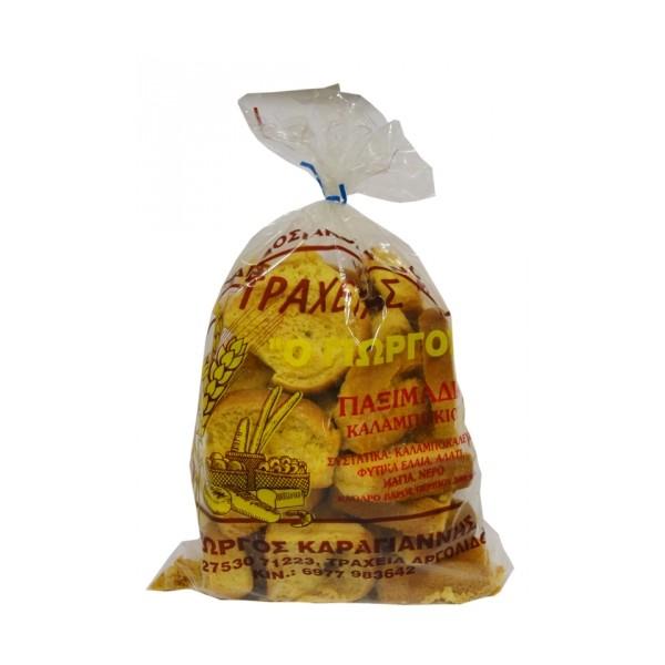 Παξιμάδια καλαμποκιού ΤΡΑΧΕΙΑ 500 gr
