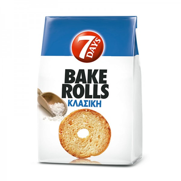 Bake rolls κλασική 7Days 160gr
